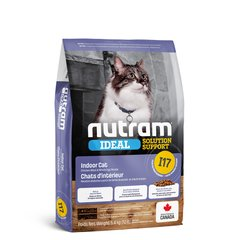 I17 Nutram Ideal Solution Support Indoor - холистик корм для домашних кошек (курица), цена | Фото
